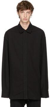 Ann Demeulemeester Black Gratte Shirt