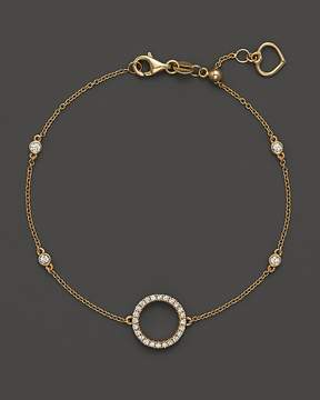 Bloomingdale's Diamond Circle Bracelet in 14K Yellow Gold, .20 ct. t.w.