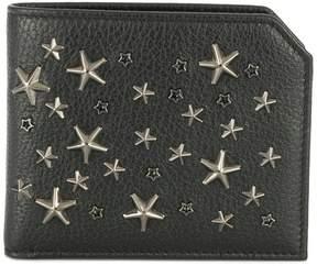 Jimmy Choo Albany star studded wallet