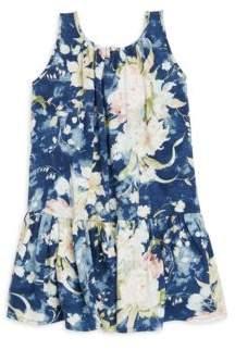 Ralph Lauren Toddler's& Little Girl's Floral Cotton Dress