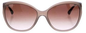 Chanel Bijoux Cat-Eye Sunglasses