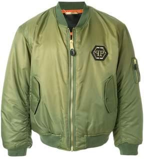 Philipp Plein padded bomber jacket