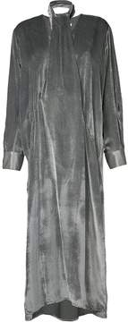 CHRISTOPHER ESBER neck tie long sleeved dress