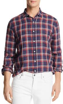 Bloomingdale's The Men's Store at Yarn Dye Linen Long Sleeve Button-Down Shirt - 100% Exclusive