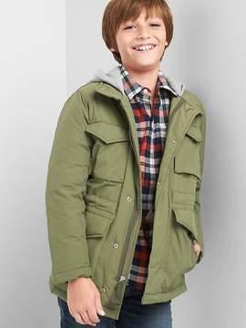 Gap Jersey-lined fatigue jacket