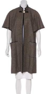 Celine Vintage Houndstooth Coat