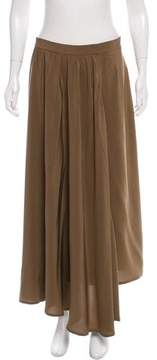 Dusan Silk Maxi Skirt w/ Tags