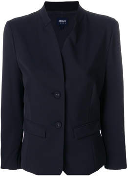Armani Jeans pleated cuff jacket