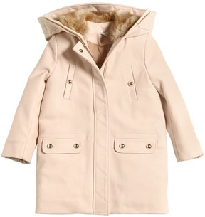 Chloé Hooded Virgin Wool Coat