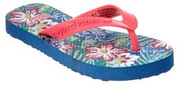 Vineyard Vines Girls' Tropical Flip Flop.