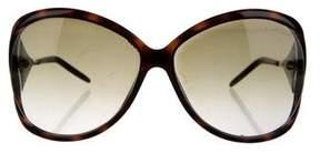 Roberto Cavalli Tortoiseshell Gradient Sunglasses