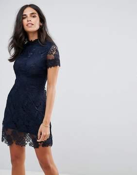 AX Paris Crochet Lace Mini Dress