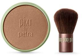 Pixi By Petra Beauty Bronzer + Kabuki Brush
