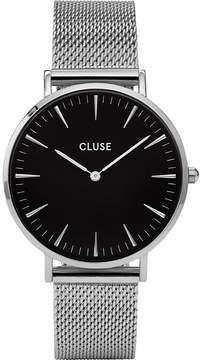Cluse CL18106 La Bohème stainless steel mesh watch