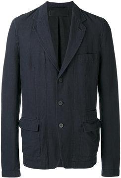 Haider Ackermann multi-pocket blazer