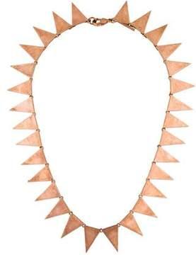 Eddie Borgo Triangle Collar Necklace