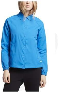 Converse Core Women's Coaches Button Down Jacket-Blue