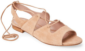 Aperlaï Sarah Ghillie Lace-Up Sandals