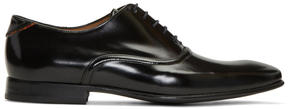 Paul Smith Black Leather Starling Oxfords
