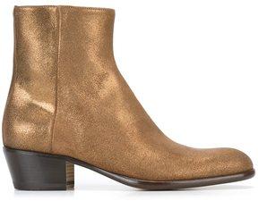 Maison Margiela metallic ankle boots