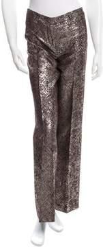 Alessandro Dell'Acqua Tailored Brocade Pants