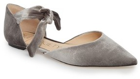 Sole Society Women's Teena D'Orsay Flat With Ties