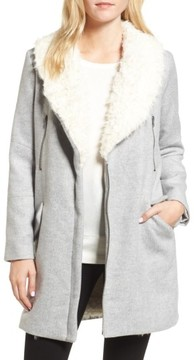 Cupcakes And Cashmere Women's Abraham Faux Shearling Coat