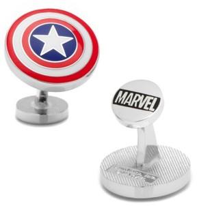 Cufflinks Inc. Men's Cufflinks, Inc. 'Captain America Shield' Cuff Links