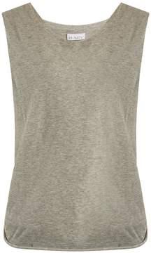 Raey Knot-back cotton-jersey tank top