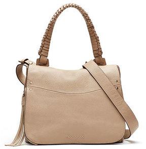Elizabeth and James Trapeze Leather Crossbody Bag