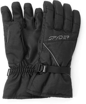 Spyder Black Splice Gloves - Men