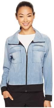 Lucy Indigo Trucker Jacket Women's Coat