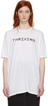 Baja East White Thriving T-Shirt