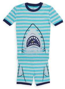 Petit Lem Little Boy's Two-Piece Tee and Shorts Pyjama Set