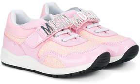 Moschino Kids logo sneakers