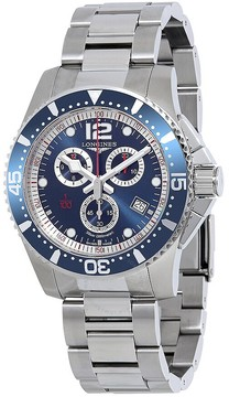 Longines HydroConquest Chronograph Blue Dial Men's Watch