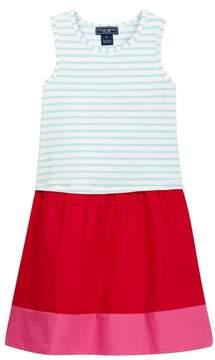 Toobydoo Naya Striped Top Dress (Toddler, Little Girls, & Big Girls)