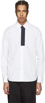 Marni White Front Patch Shirt