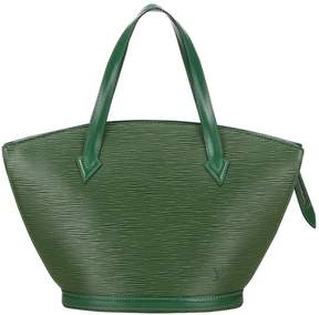 Louis Vuitton St Jacques leather tote - GREEN - STYLE