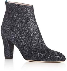 Sarah Jessica Parker Minnie Glitter High Heel Booties