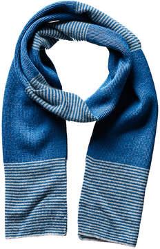 Portolano Men's Teal Dorset Wool & Cashmere-Blend Scarf