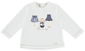 Mayoral Shine All Day Long-Sleeve Tee, Size 6-36 Months