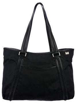 Tumi Nylon & Leather-Trimmed Bag