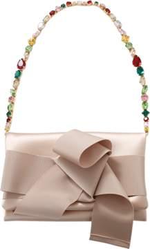 OSCAR DE LA RENTA Petite Jewel Strap Evening Bag