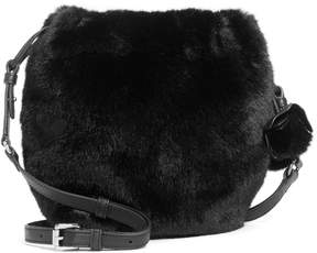 Vince Camuto Mari Faux Fur Drawstring Bag
