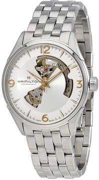 Hamilton Jazzmaster Open Heart Auto Silver Dial Men's Watch