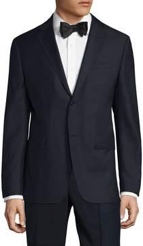Jack Spade Men's Warren Fit Sharkskin Sportcoat