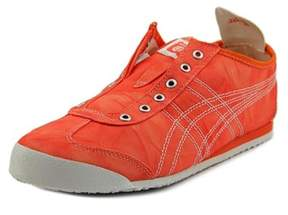 Onitsuka Tiger by Asics Mexico 66 Slip-on Round Toe Canvas Sneakers.
