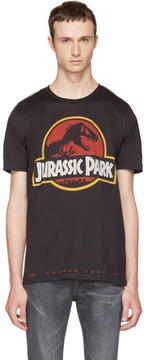 Dolce & Gabbana Black Jurassic Park T-Shirt
