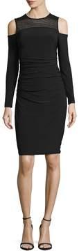 Cynthia Steffe Women's Karen Cold Shoulder Sheath Dress